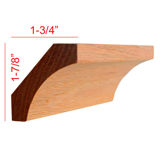 Red Oak Cove Crown Molding EWCR39