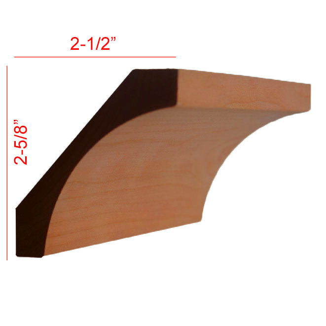 Cherry Cove Crown Molding EWCR40