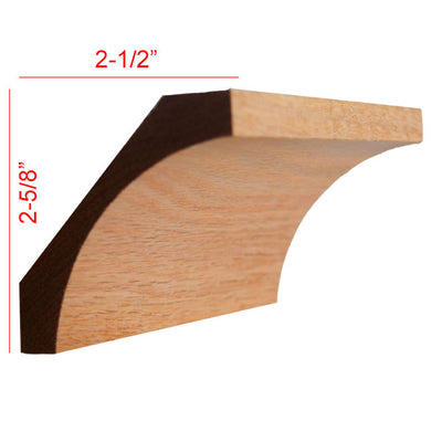 Red Oak Cove Crown Molding EWCR40