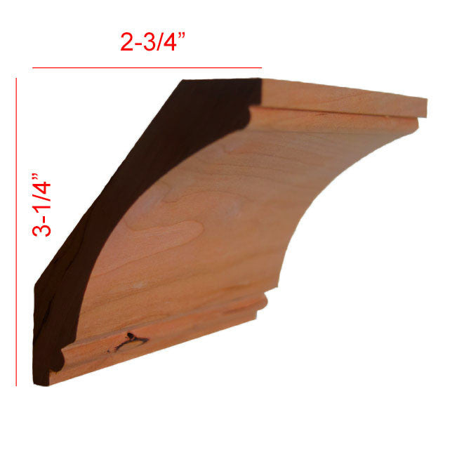 Cherry Cove Crown Molding EWCR43