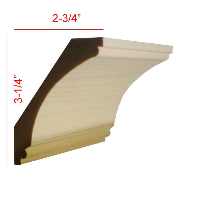 Poplar Cove Crown Molding EWCR43