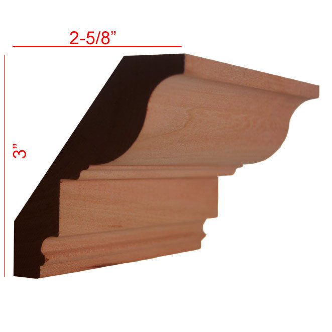 Cherry Crown Molding EWCR47