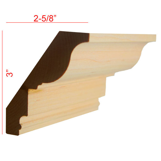 Maple Crown Molding EWCR47