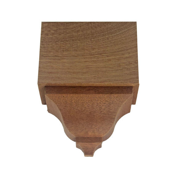 Sapele Mahogany Crown Middle Block EWCR62