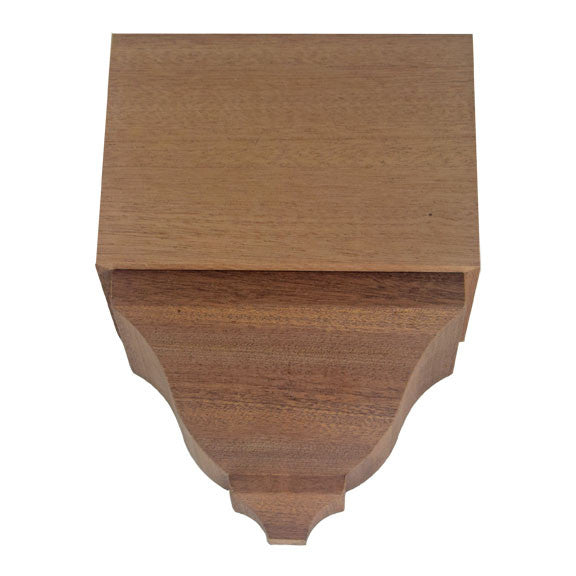 Sapele Mahogany Crown Middle Block EWCR82