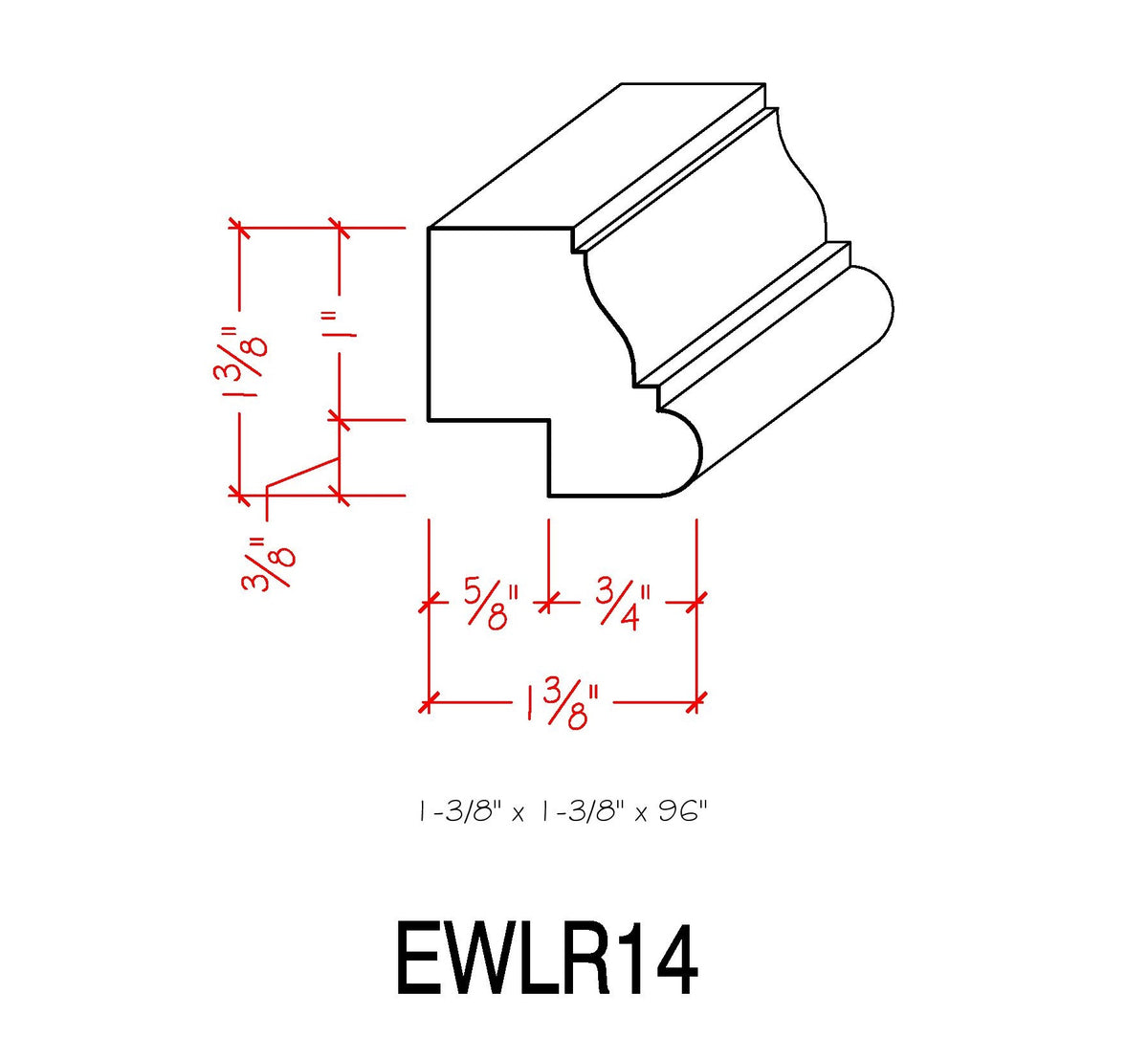 Light Rail EWLR14 Maple