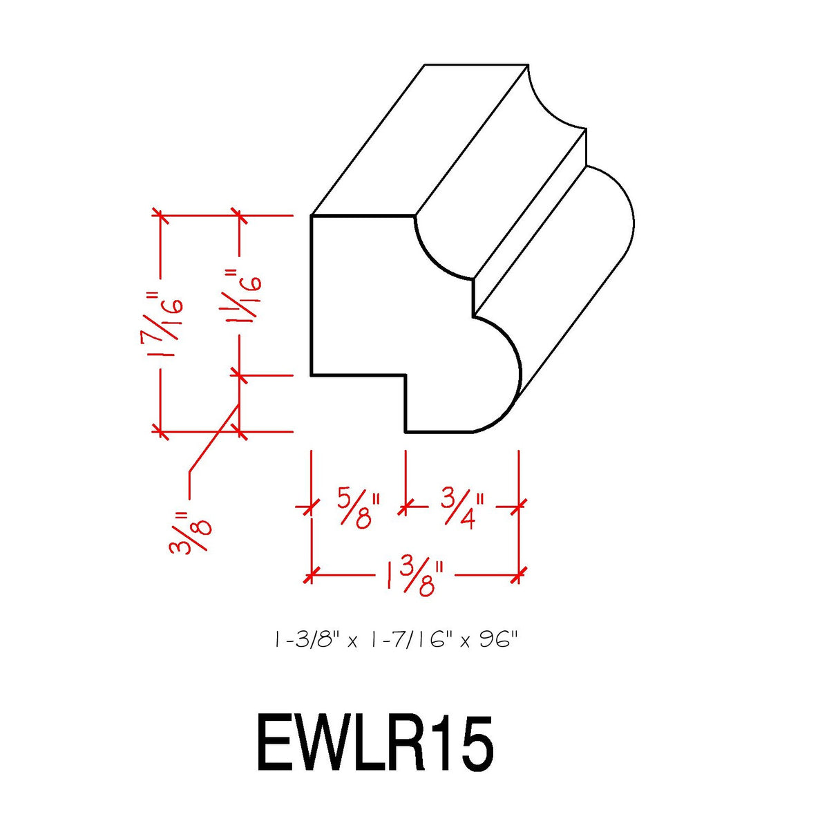 Light Rail EWLR15 Maple