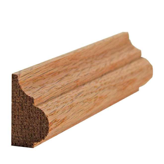 Red Oak Base Cap Molding EWBC27
