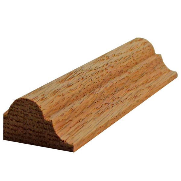 "Nose And Cove Molding EWPM23 Red Oak 3/4"" X 1-1/4"""