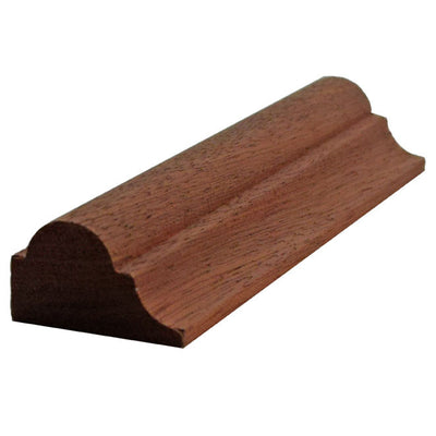 Sapele Mahogany Nose and Cove Molding EWPM23