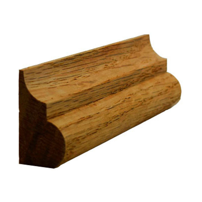 Red Oak Base Cap Molding EWBC26