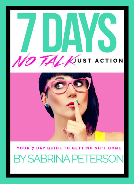 7 DAYS No Talk, All Action Ebook