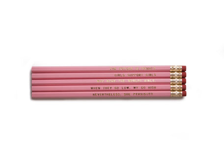 He said, She said - Feminist Pencil Set