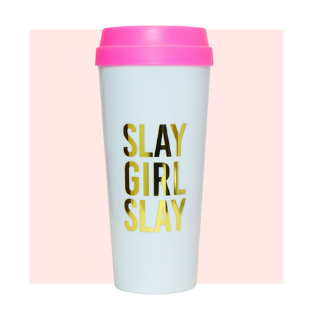 """Slay Girl Slay"" Travel Mug"