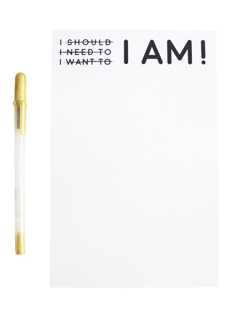 i am doing it notepad glam university