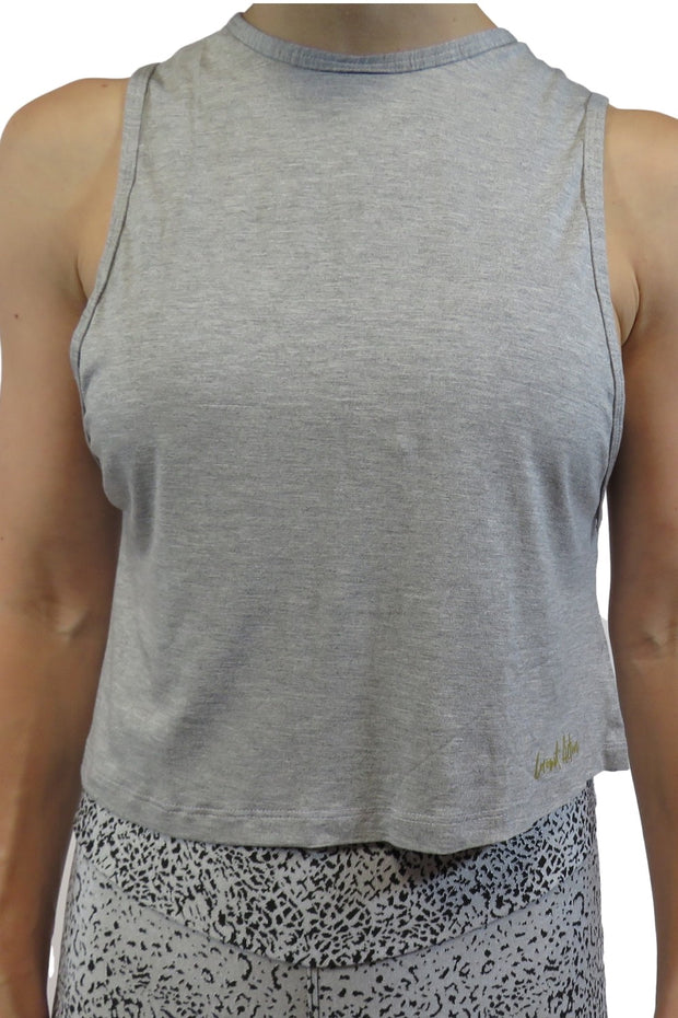 Crop Open Back Tank
