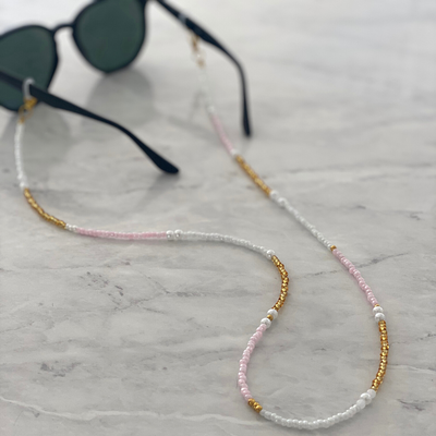 Ava Sunglass and Mask Chain