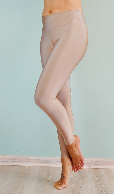 Metallic leggings. All That Shines are made from a high shine, luxurious fabric