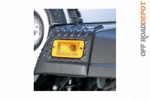 RUG 11650.20 - FENDER GUARD FRNT JEEP TJ 97-06