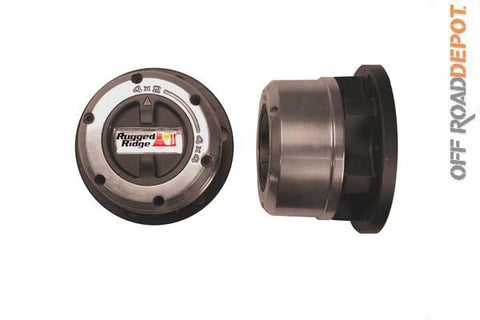 RUG 15001.02 - CANDADOS MANUALLES RUGGED RIDGE JEEP 72-80 27 SPLINE