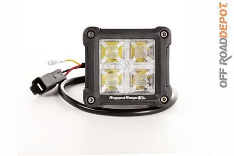 RUG 15209.30 - LED CUBE 3'' RUGGED RIDGE IP-67 WP (PZA) HIGH/LOW