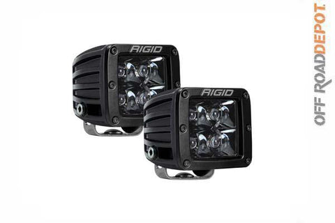 RIG 202213BLK - FAROS D SERIES PRO KIT 4 LEDS Midnight Optic Spot Light