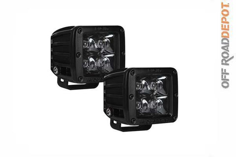 RIG 20221BLK - FAROS 4 LED SPOT LIGTH RIGID DUALLY (PAR) MIDNIGTH EDITION