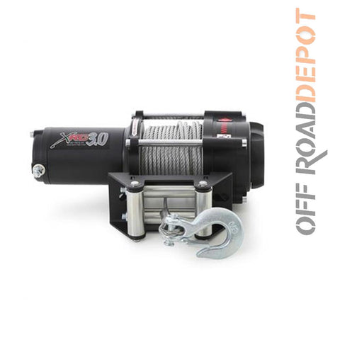 S/B 97203 - WINCH 3000 LBS XRC3 CABLE 1/4'' X 38''