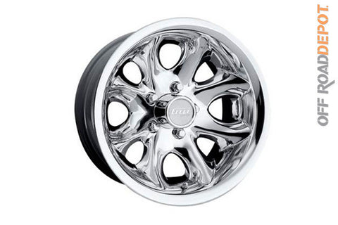 Rin Series 118 Polished 16x8 (5 on 5.3)
