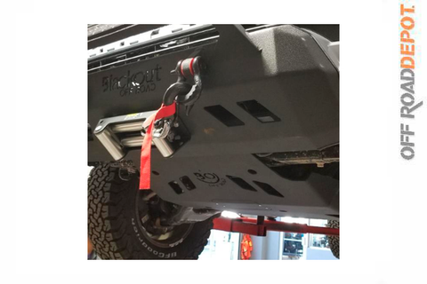 WINCH PLATE BLACKOUT PARA TOYOTA TACOMA