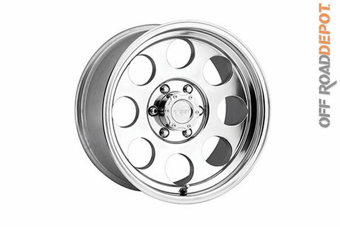 Rin Classic Polished 15x8.5 (5x5) 3.75 BS