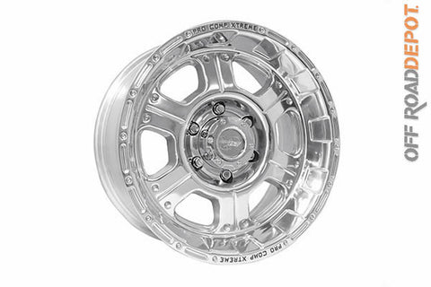 Rin Xtreme Alloys Polished 17x9 (6x5.3)  4.75 BS