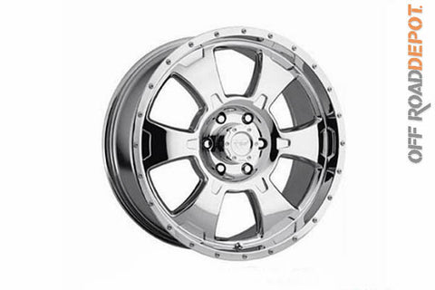 Rin Xtreme Alloys Polished 18x8.5 (6x5.5)