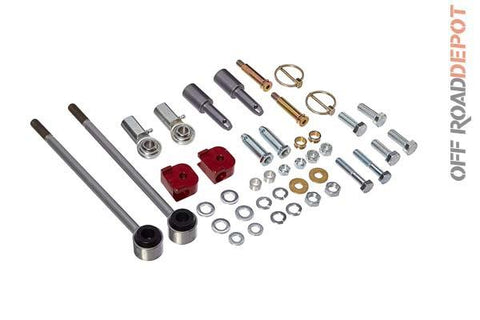 R/E RE1142 - SWAY BAR DISCONECTS GEN II JEEP TJ 4.5''-7.5''