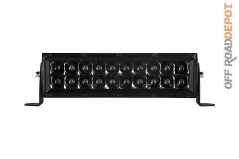 RIG 110212BLK - BARRA DE 10'' E-SERIES RIGID SPOT MIDNIGHT EDITION