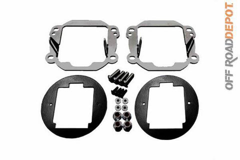 RIG 40138 - KIT CONVERSION FOG LIGHT RIGID JEEP JK 07-15