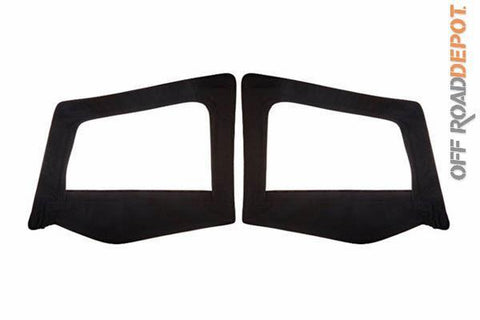 S/B 89615 - DOOR SKINS JEEP YJ 87-95 BLK DIAMOND