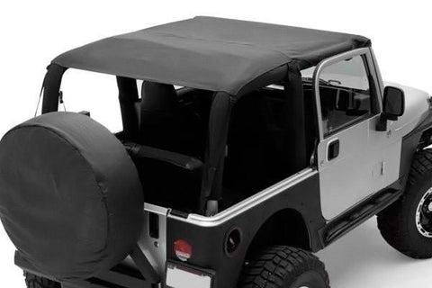 S/B 92915 - EXTENDED TOP NEGRO JEEP YJ 92-95