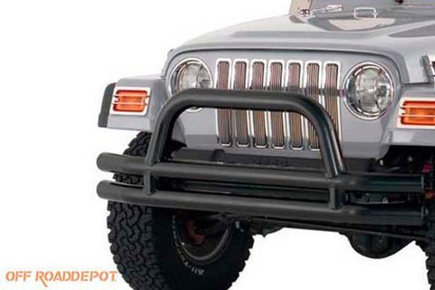 S/B JB44-FT - DEFENSA TUBULAR JEEP CJ-TJ BLK TEXTURED