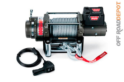 Winch M15,000 lbs. Cable 7/16''