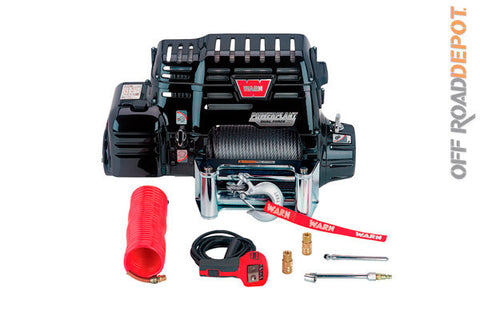 Winch Powerplant HD 12,000 lbs. Cuerda de Acero 3/8''