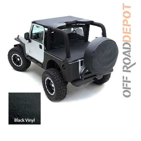 S/B 90815 - STANDARD TOP JEEP YJ 87-91 BLK DENIM