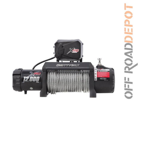 S/B 97412 - WINCH XRC12 GEN II 12,000 LBS CABLE ACERO 3/8''X79'