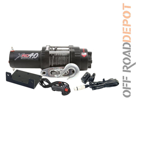S/B 98204 - WINCH 4000 LBS XRC4 CABLE SINTETICO 30'