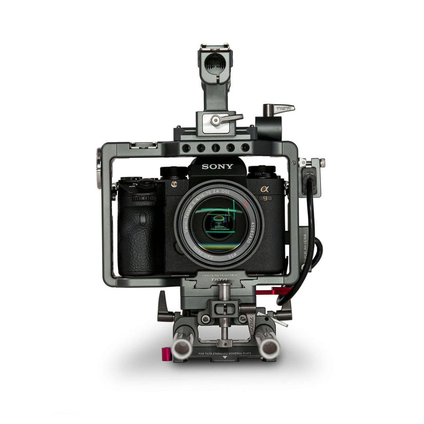 TILTA Camera Rig for Sony A7/A9 Series Front View
