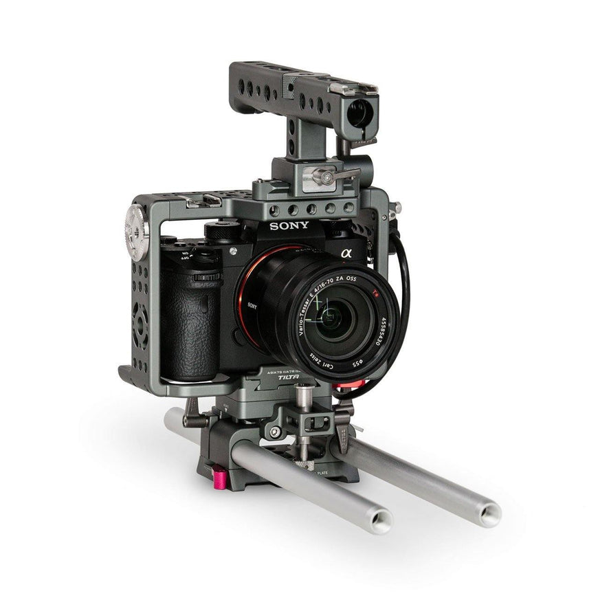 TILTA Camera Rig for Sony A7/A9 Series Left Front View