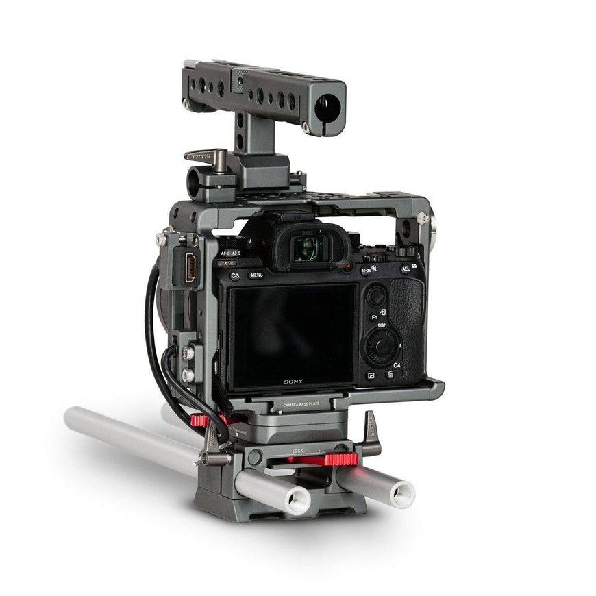 TILTA Camera Rig for Sony A7/A9 Series Right Back View