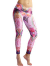 Pink Paradise Compression Legging