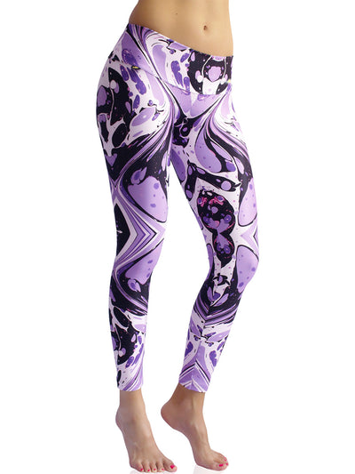 Purple Rivers Compression Legging