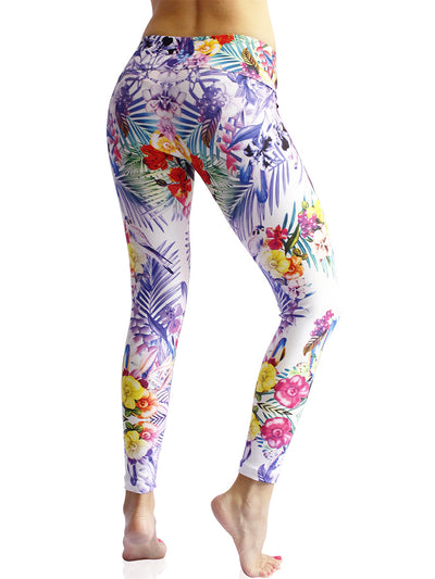 Tantalizing Tropics Compression Legging